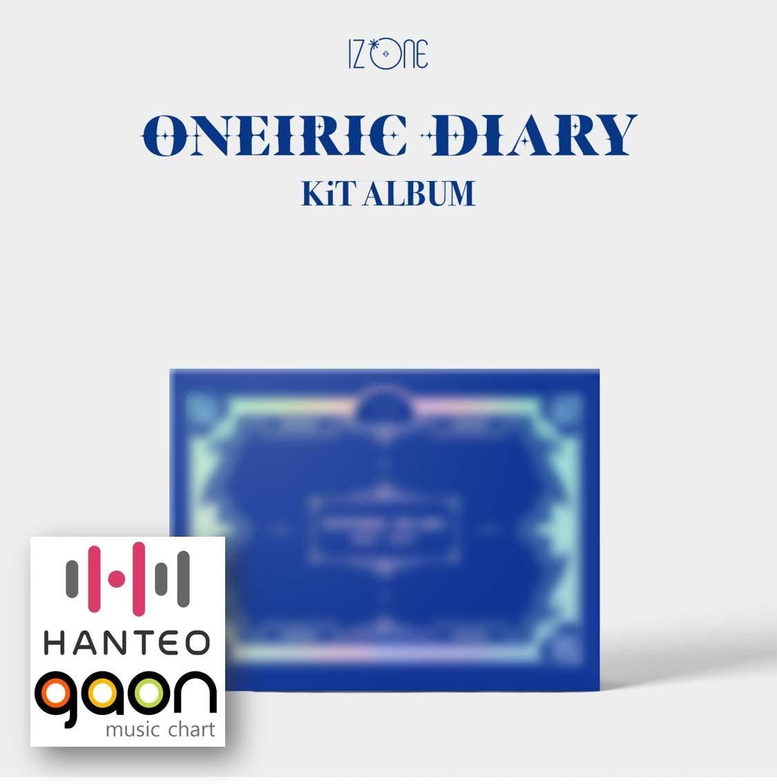 IZONE Album - Oneiric Diary 幻想日記 [Kit Album] (3rd Mini Album) [Pre Order] Album Package with Extra Decorative Sticker Set, Photocard Set