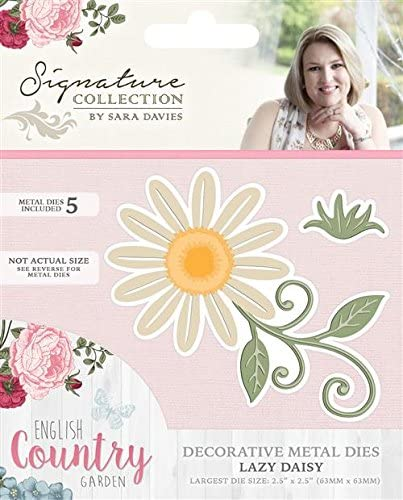Crafters Companion English Country Garden Lazy Daisy S-ENG-MD-DAIS