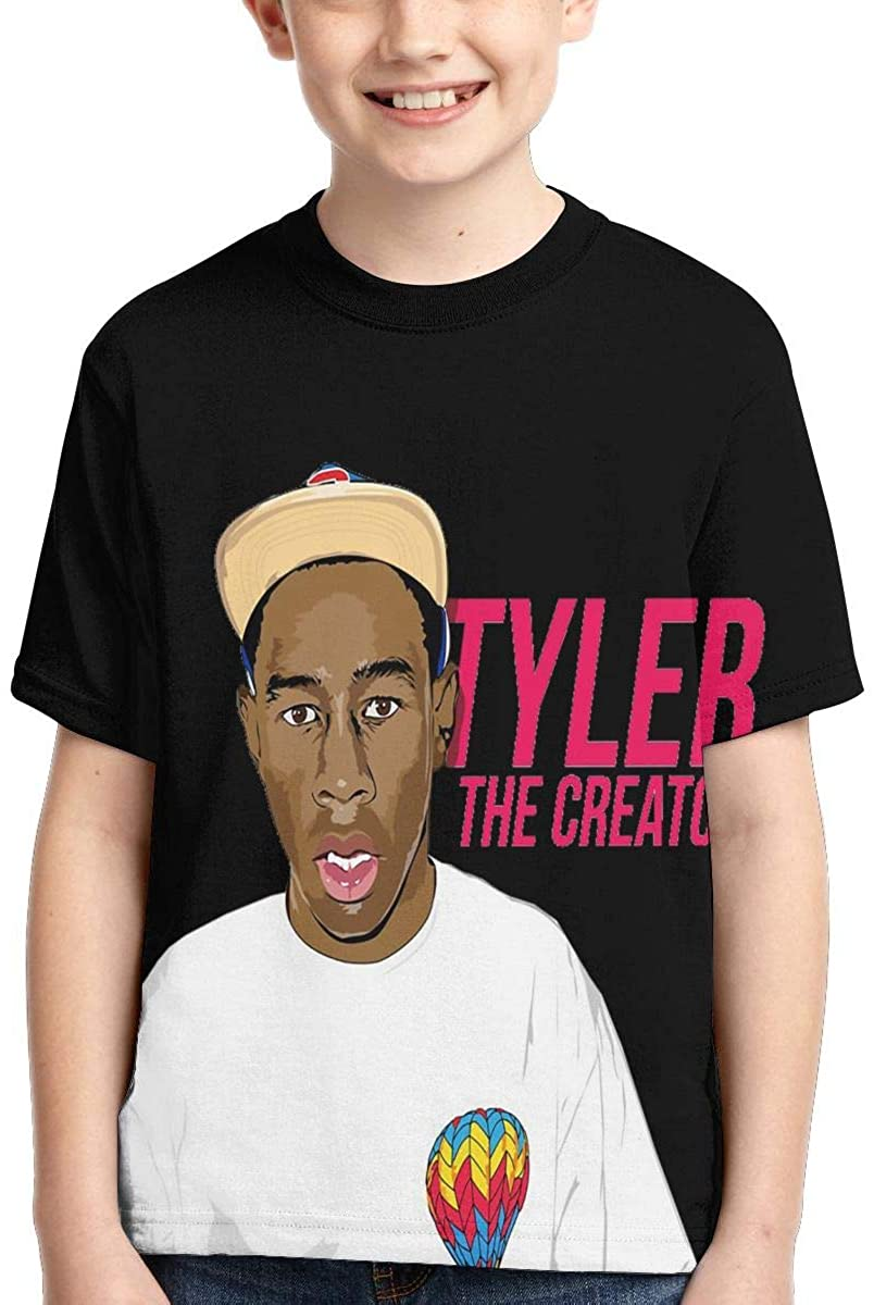 Czshui Boys,Girls,Youth Tyler The Creator T-Shirt