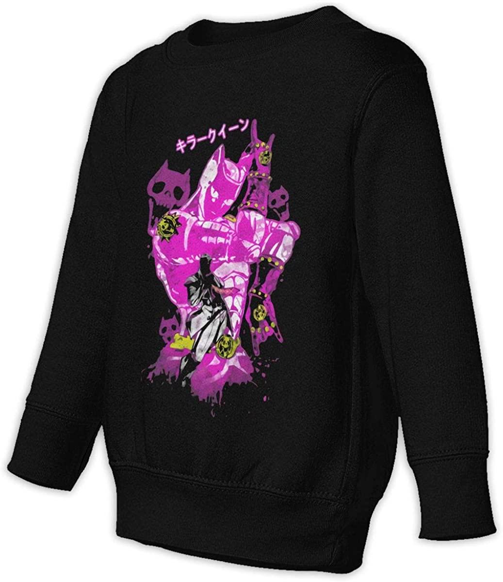 ASFSDGSDG JoJo's Bizarre Adventure Unisex Sweatshirt Youth Boy and Girls Pullover Sweatshirt