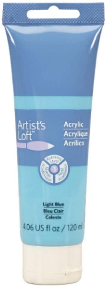 Artist's Loft Acrylic Paint, 4 oz (Light Blue)