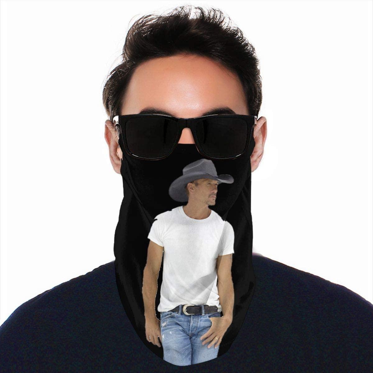 StephaSport Tim McGraw Fashion Windproof Warm Scarf Soft Men Women Scarfs Outdoor