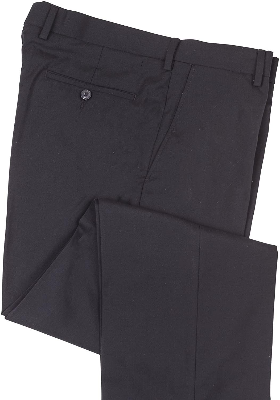 J. Braxx by Ballin, Men's Expandable Waist Stretch Wool Blend Pant, Flat Front