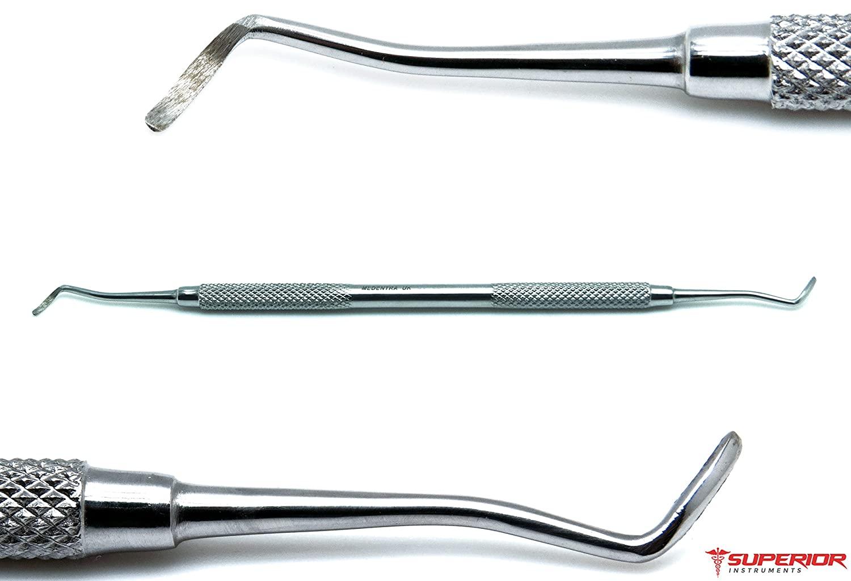 Dental 65/66 Excavators Spoons 1mm Double Ended Restorative Oral Steel Instruments