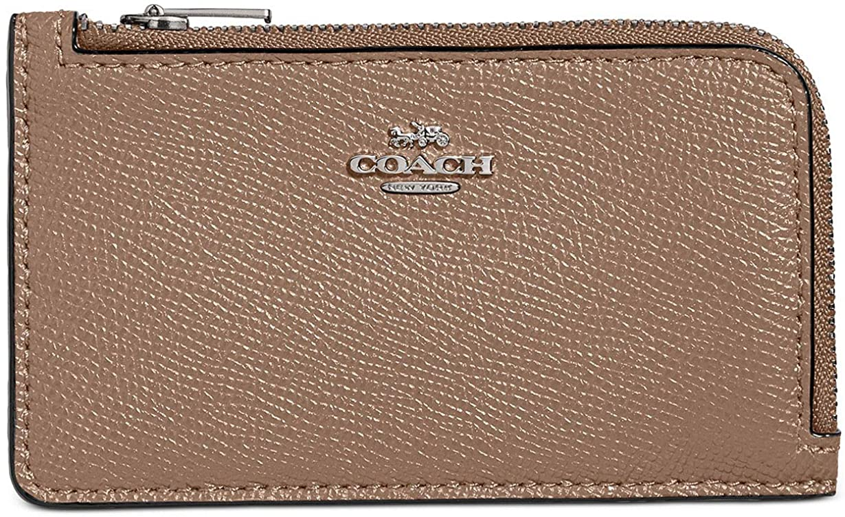 Coach Women`s Small L-Zip Card Case
