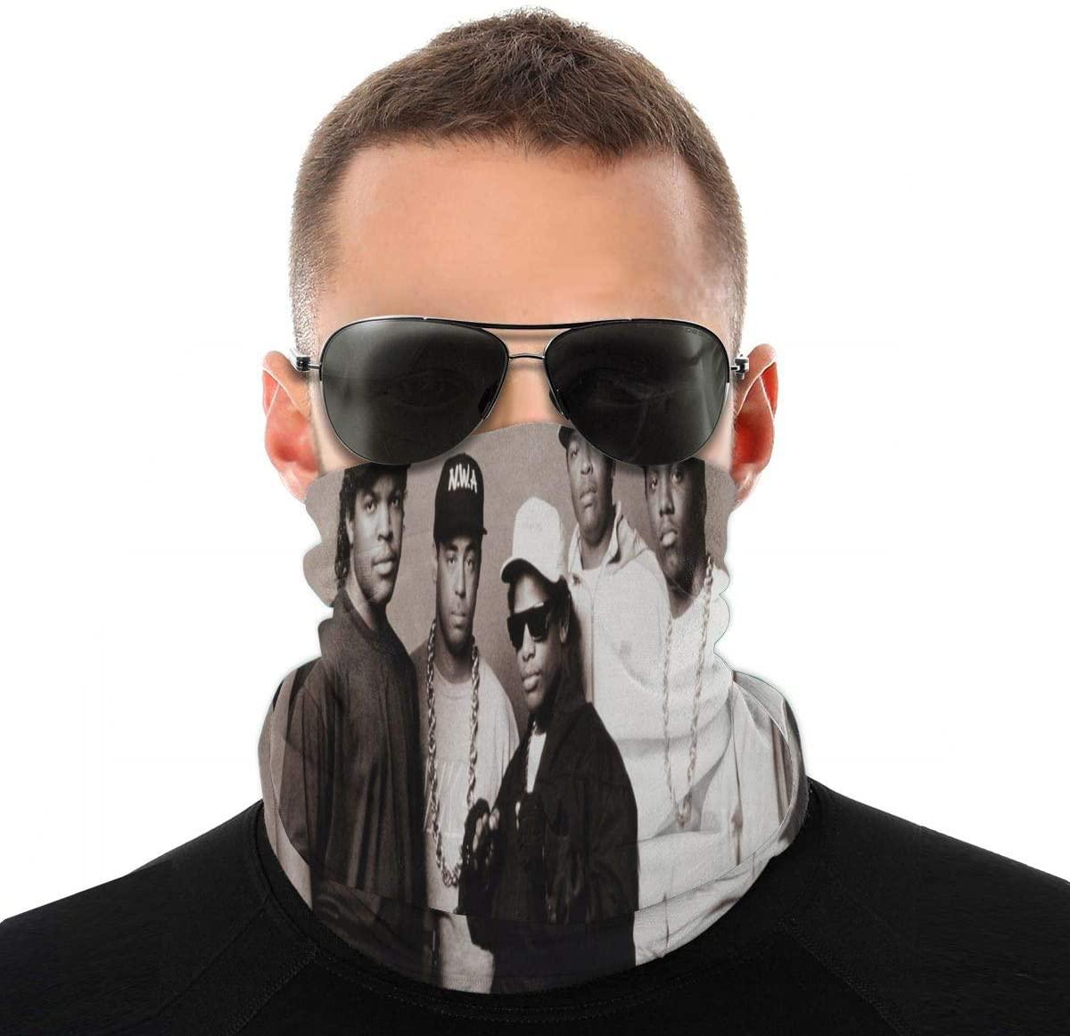 Atoyyre N.W.A Hip-Hop Vintage Head Scarf Multi Function Scarf
