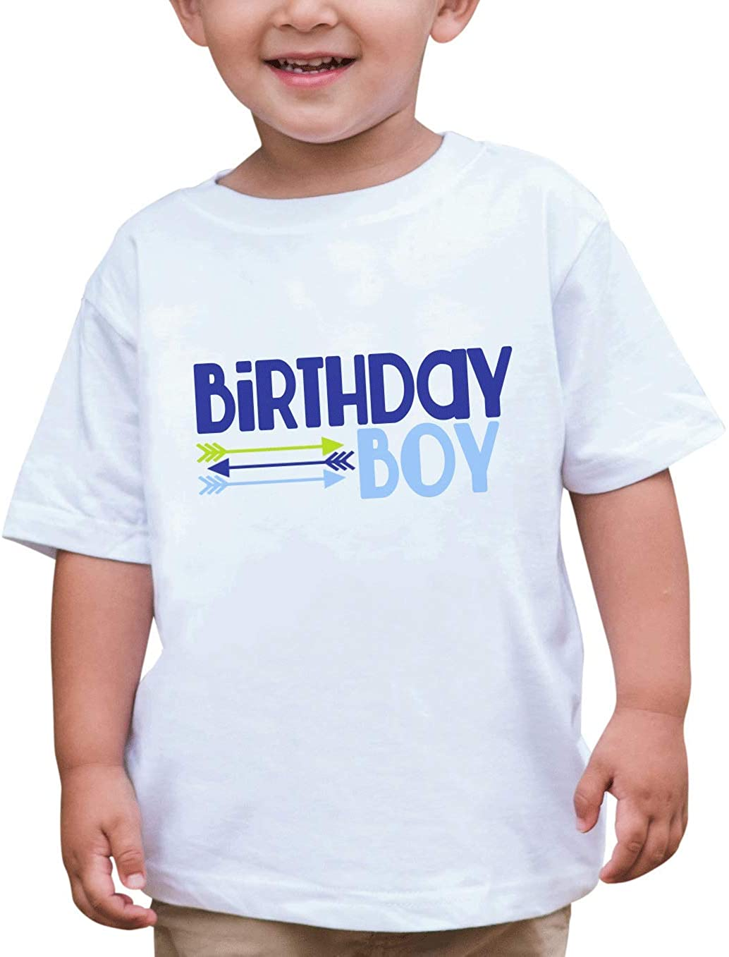 Custom Party Shop Baby Boy's Novelty Arrows First Birthday Outfit 2T Blue and Green