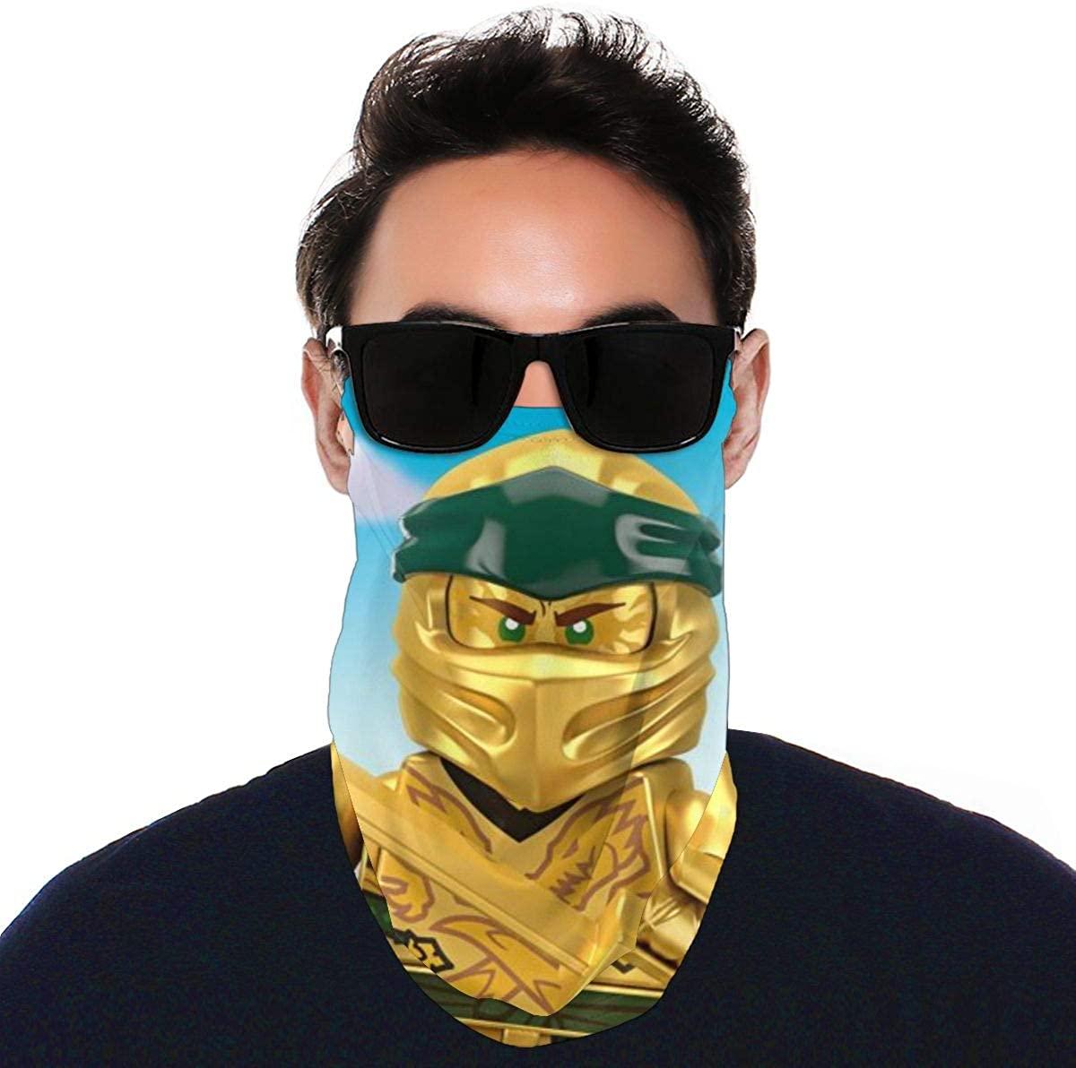 Ninjago Women/Men Scarf Outdoor Headwear Bandana Sports Tube Uv Face Mask for Workout Yoga Running