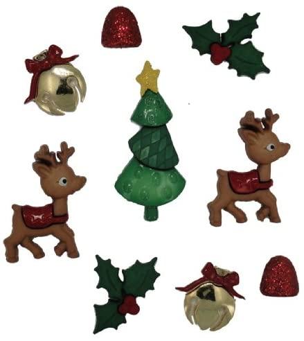 Dress It Up 5615 Reindeer Games Embellishment