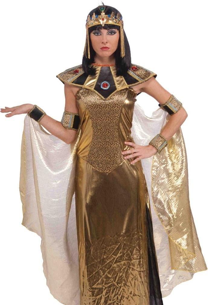 Forum Novelties 68735 Egyptian Cleopatra Headpiece For Women, As Shown, One