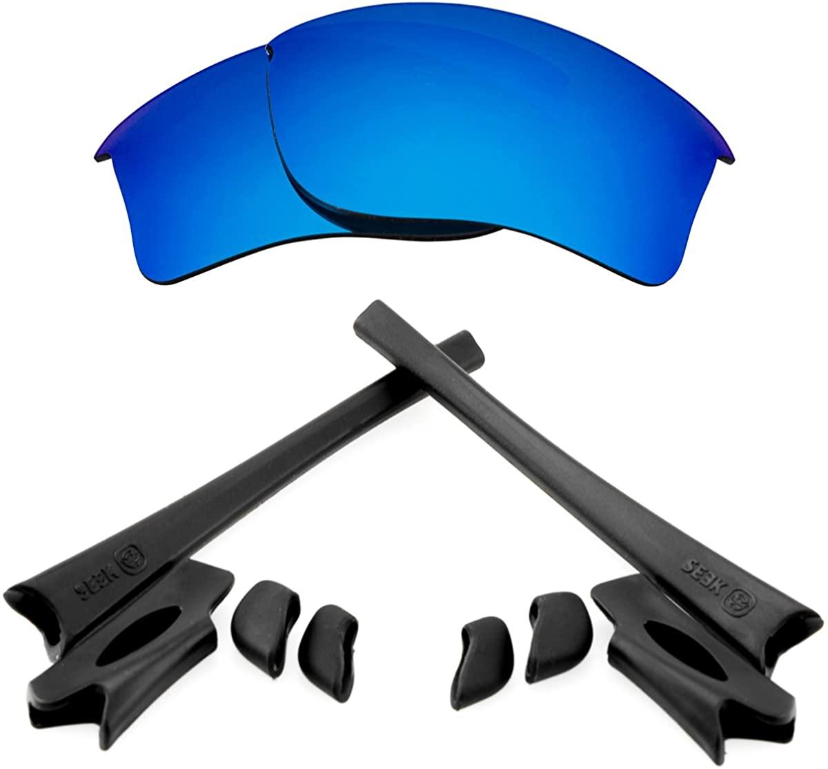 SeekOptics Replacement Kits Compatible with Oakley Flak Jacket Sunglasses