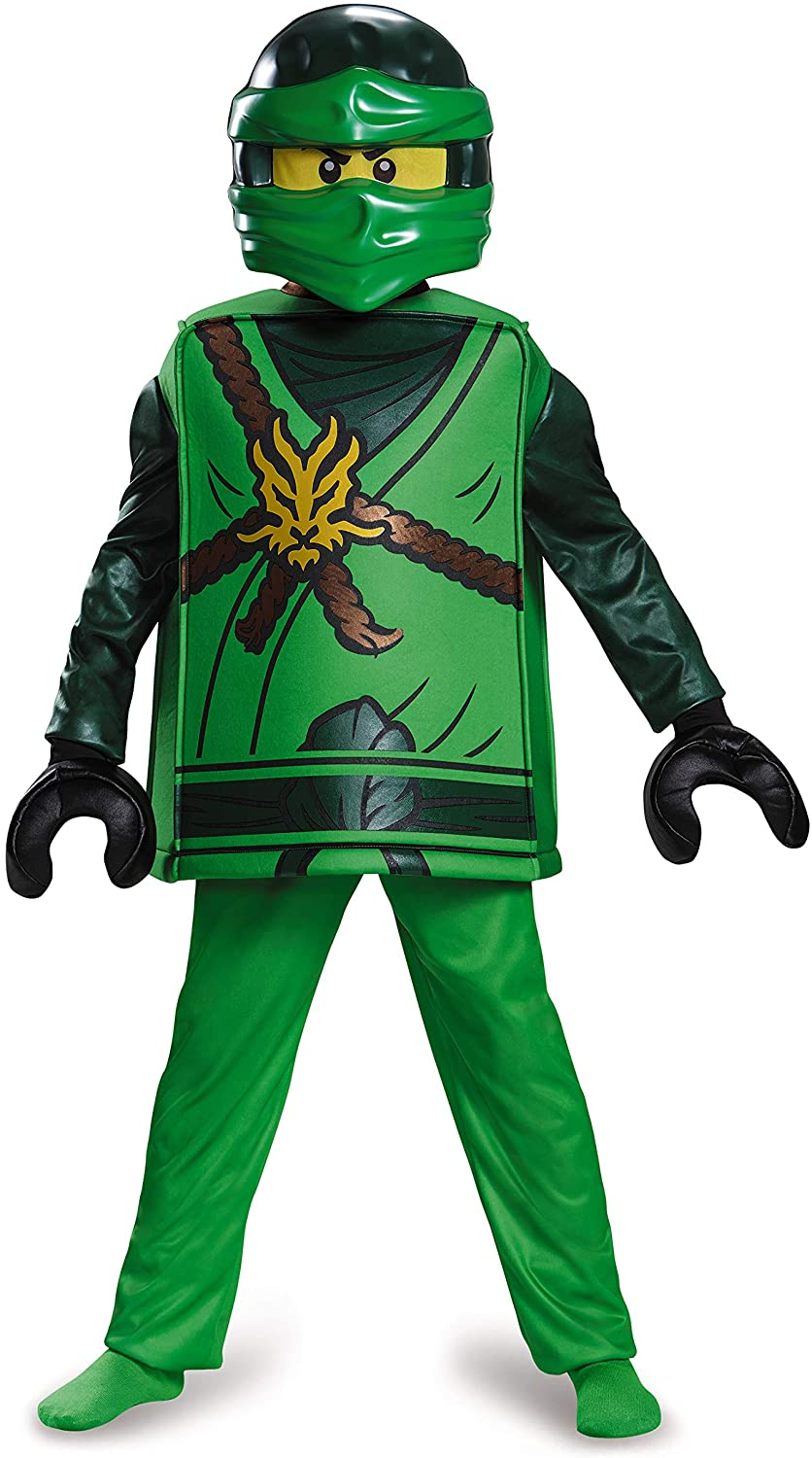 Disguise Lloyd Deluxe Ninjago Lego Costume, Large/10-12