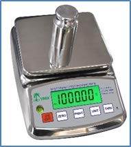LW HRB-S 6001, Toploading Stainless Steel Balance, 6000 g x 0.1 g