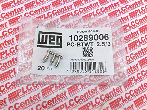 WEG PC-BTWT-2.5/3 (Price/PK of 20) Terminal Blocks - Connection Bridge 3