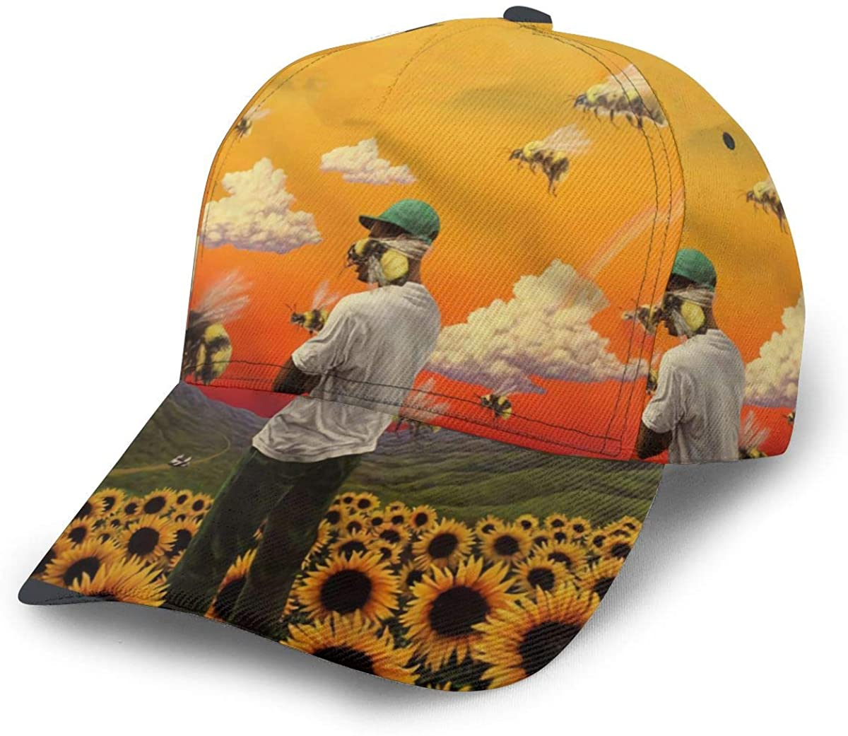 NOT Tyler The Creator Flower Boy Men's Cap,Hat, Chapeau,Dicer,Headgear,sunbonnet,baseball Cap