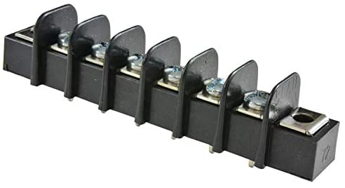 38720-6206 - PCB Mount Barrier Terminal Block, 9.53 mm, 1 Row, 6 Positions, 22 AWG, 14 AWG, 15 A, (Pack of 10)