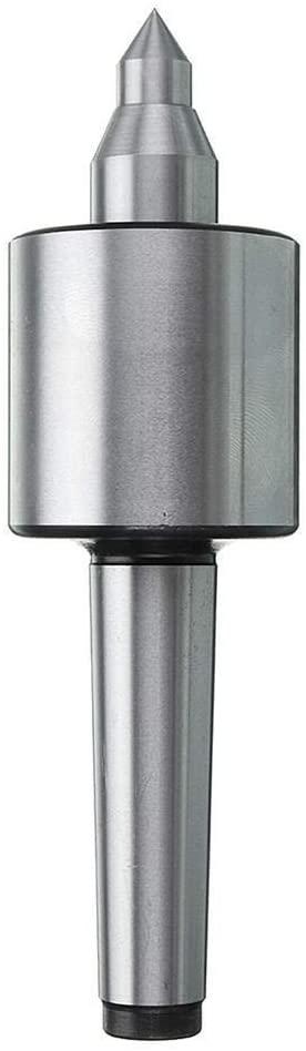 KXA MT2 Spindle Lathe Live Center Morse Taper CNC Tool Precision 0.000197 Inch Lathe Accessories