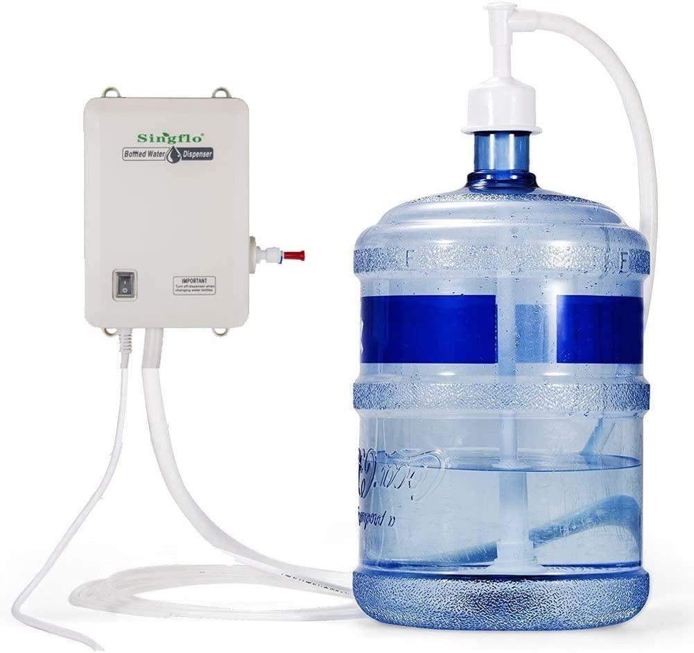 Bottled Water Dispensing System 115V AC Bottled Water Dispenser Pump System for 3/5/6 Gallon Bottle