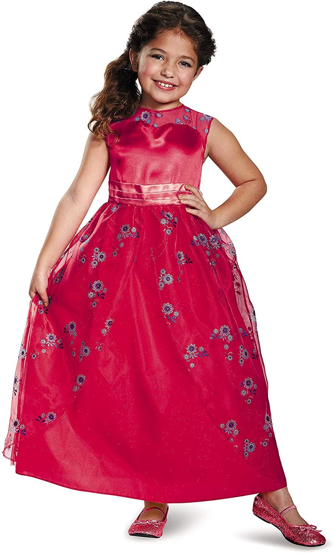 Elena Ball Gown Classic Elena of Avalor Disney Costume, Medium/7-8