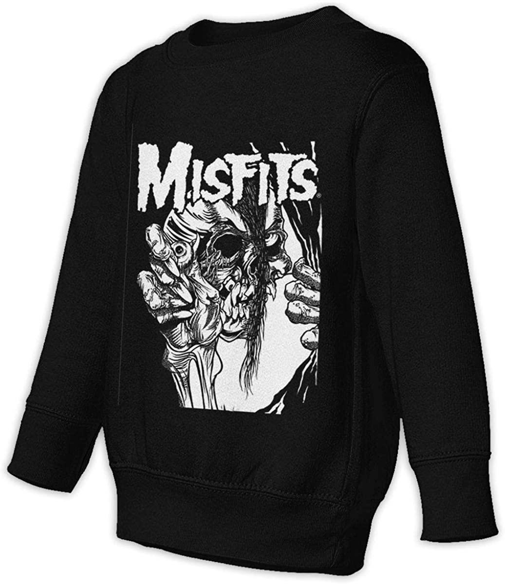 NOT Misfits Distressed Unisex Sweatshirt Youth Boy and Girls Pullover Sweatshirt