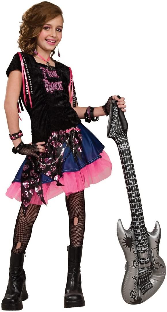 Rubie's Pink Rock Girl Costume - Medium (Ages 5-7)