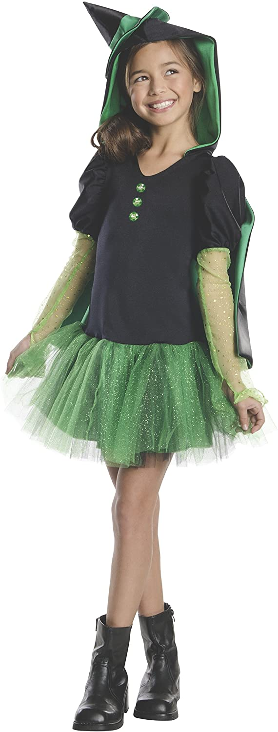 Rubies Wizard of Oz Wicked Witch of The West Hoodie Dress Costume, Child Small