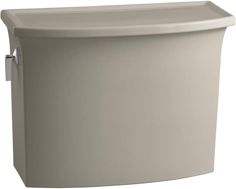 Kohler K-4431-G9 Archer 1.28 gpf Toilet Tank, Sandbar