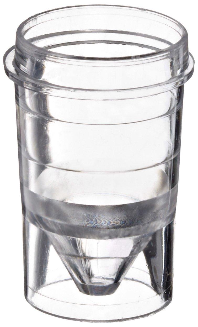 Kartell 202114 Polystyrene Autoanalyzer Sample Cup, 1.5mL Size (Case of 1000)