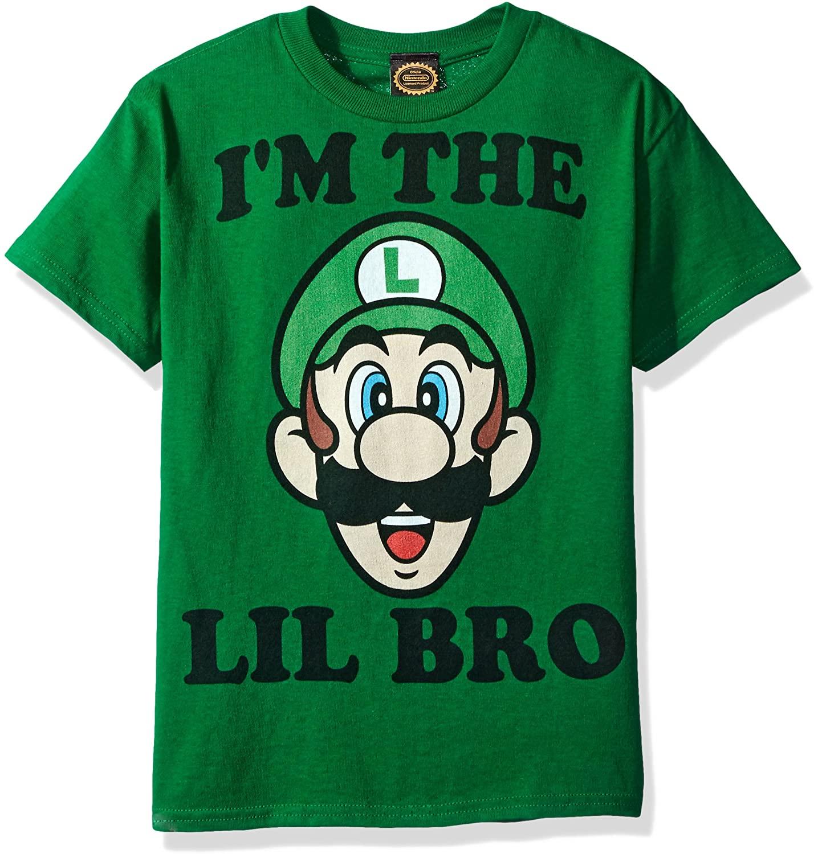 Nintendo Boys Lil Bro Graphic T-Shirt