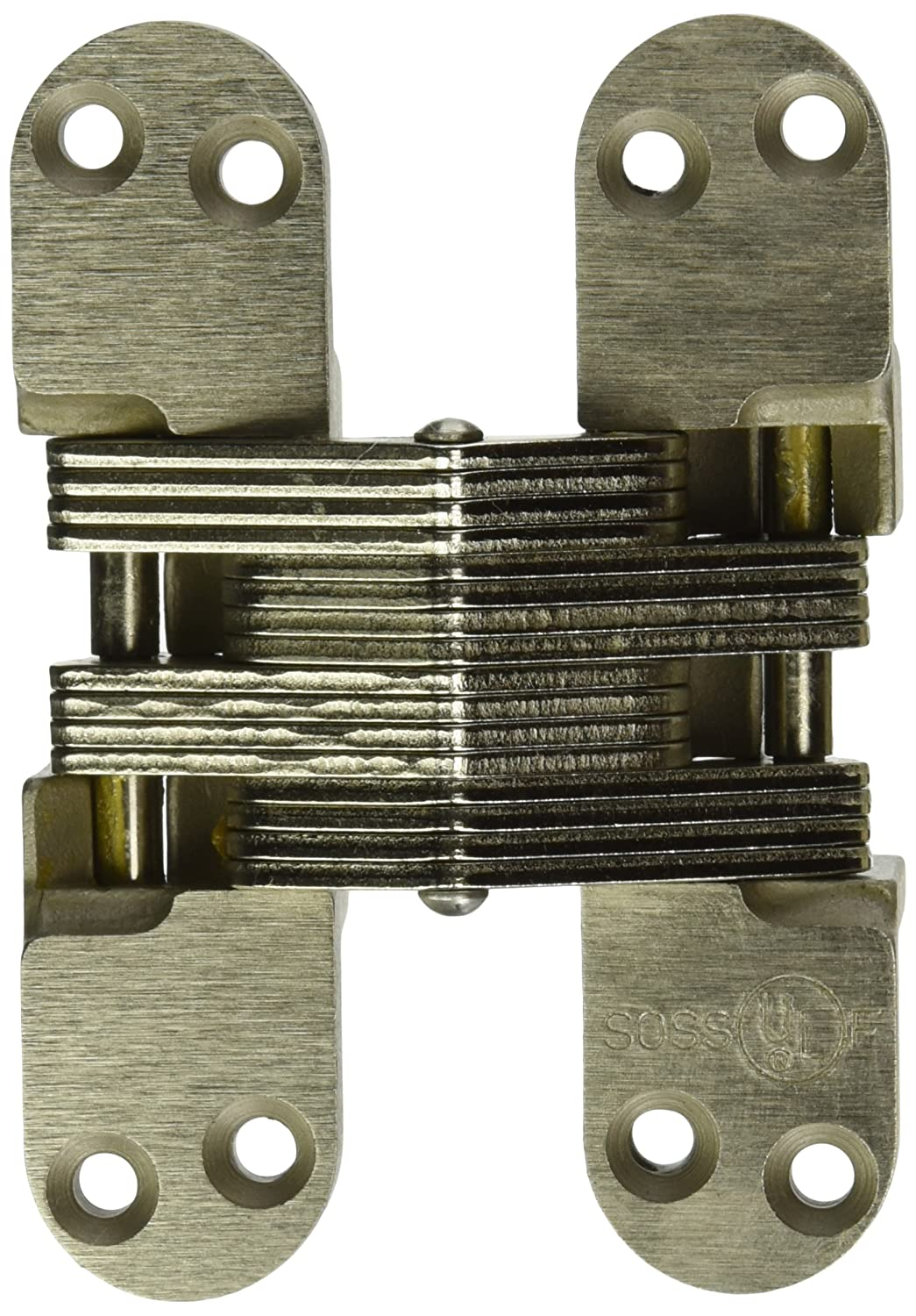 SOSS 418 Alloy Steel 20/90/180 Min. Fire Rated Hinge for 1.75