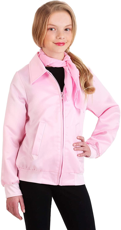 Grease Kids Pink Ladies Costume Jacket