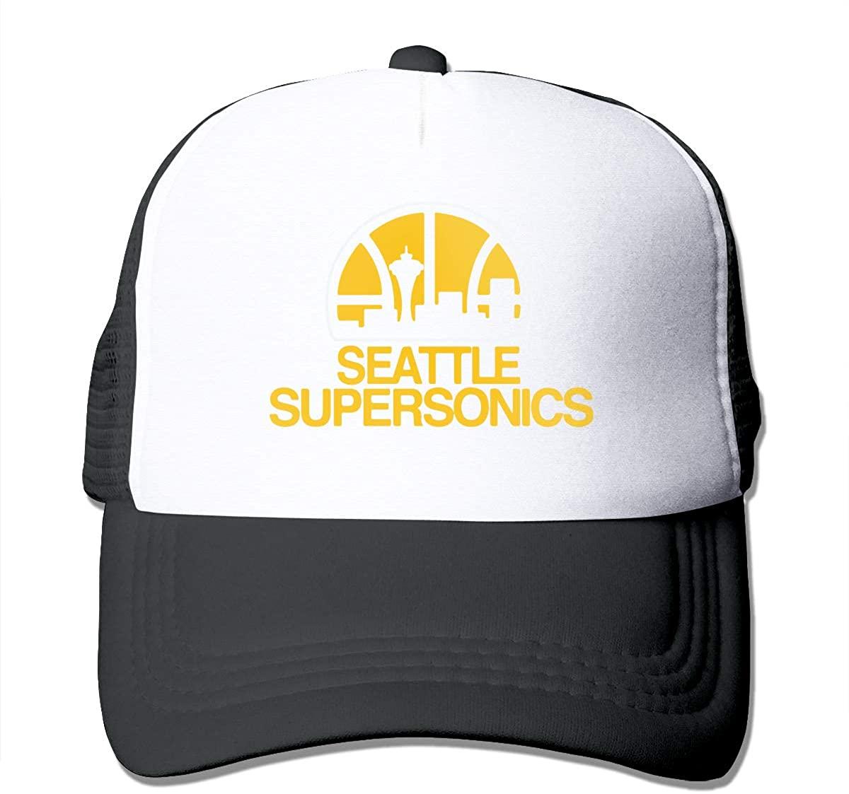 HAOHIYO Adjustable Seattle Supersonics Baseball Hat Unisex Cap