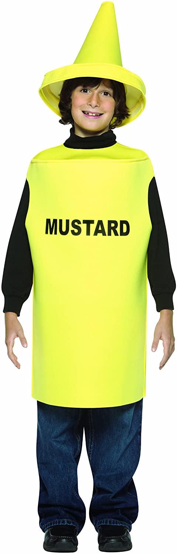 Rasta Imposta Lightweight Mustard Child Costume