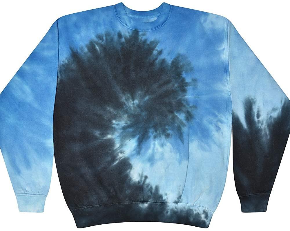 Buy Cool Shirts Tie Dye Pullover Multi Color Colorful Swirl Sweatshirt