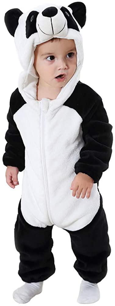 Smartlives Baby Hooded Romper Soft Jumpsuit Kids Costumes Boys Girls Pyjamas
