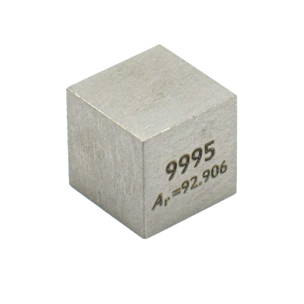10 mm Tungsten Metal Cube 99.95% Pure for Element Collection Lab Experiment Material Hobbies Substance Block Display