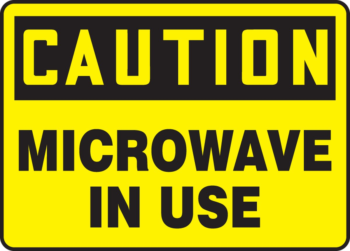 MICROWAVE IN USE (2 Pack)
