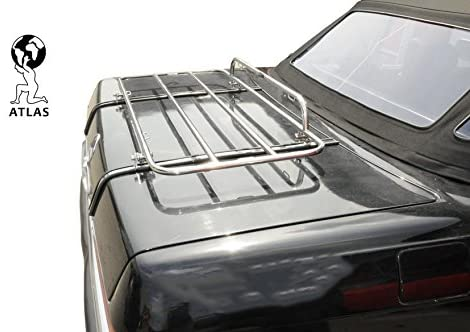 Atlas Luggage Rack FITS Mercedes-Benz SL-Class R107 Chrome Tailor Made & Perfect FIT TÜV Tested OEM Quality
