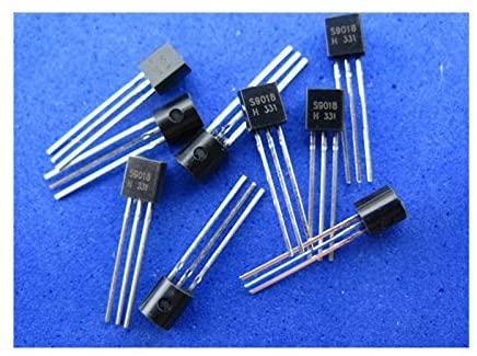 1000pcs DIP Transistor S9018, TO-92 NEW