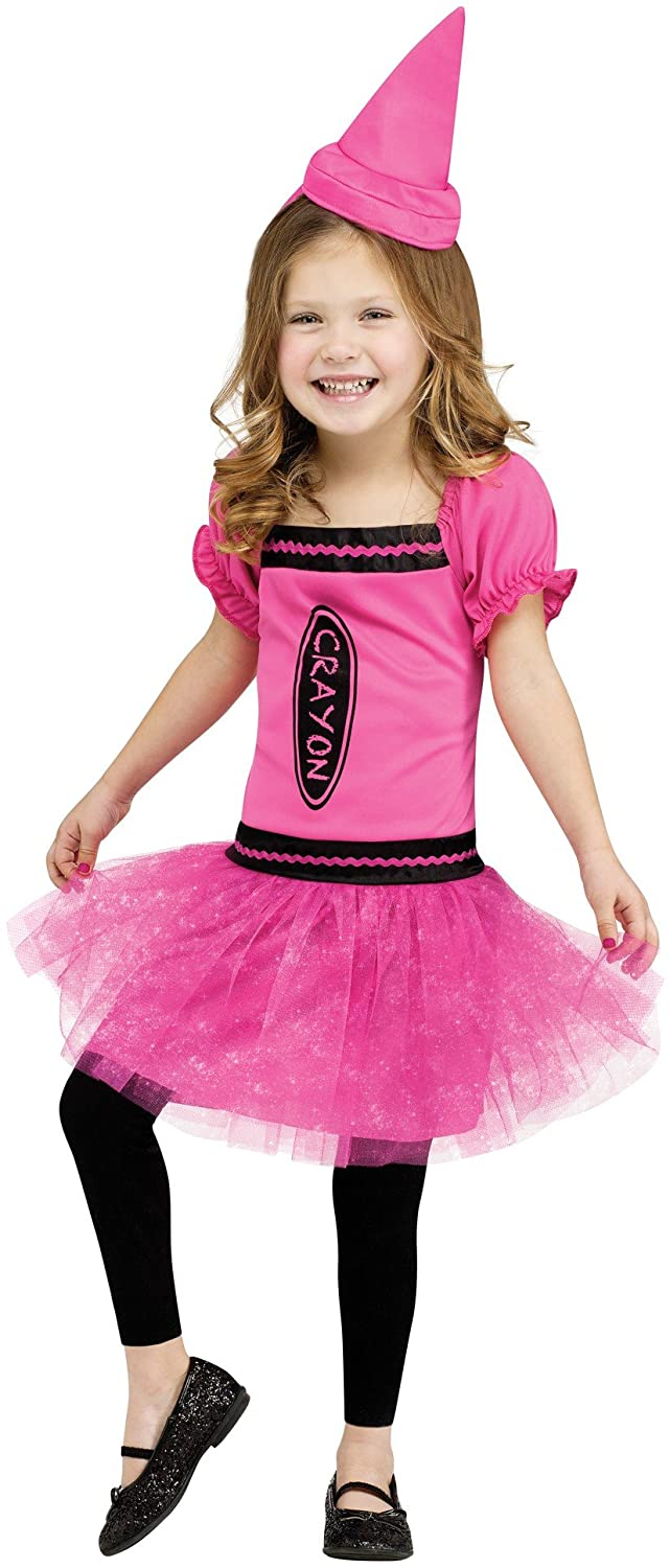 Fun World Costumes Baby Girl's Color Me Toddler Costume