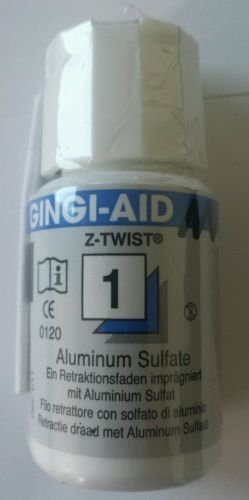 Gingi-Aid Max Z-Twist Dental Gingival Retraction Cord Packing Size 1
