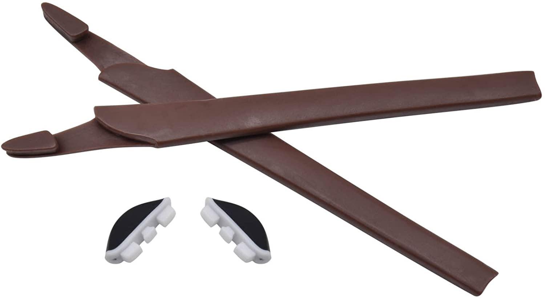 HKUCO Replacement Silicone Leg Set for Oakley Crosslink Earsocks Rubber Kit