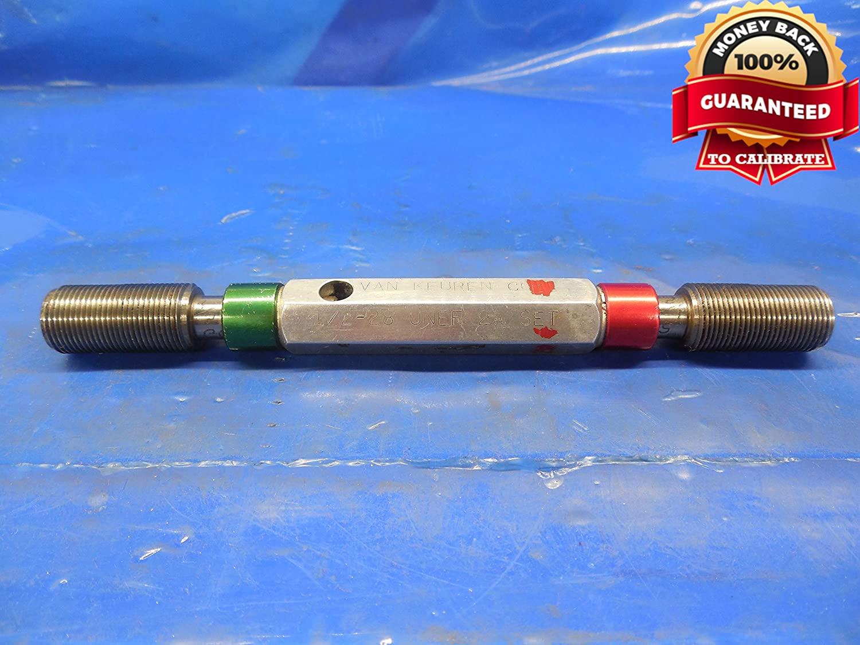 1/2 28 UNEF 2A Set Thread Plug GAGE .5 GO NO GO P.D.'S = .4757 & .4720 1/2-28