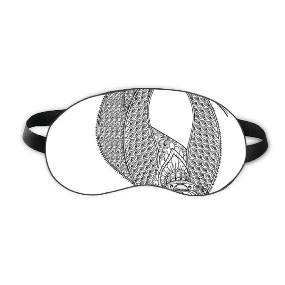 Animal Fat Slow Picture Sleep Eye Shield Soft Night Blindfold Shade Cover