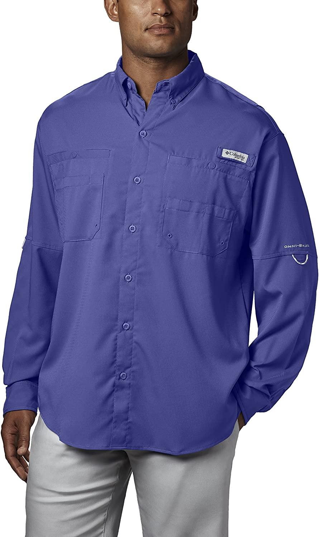 Columbia Mens Tamiami Ii Big & Tall Long Sleeve Shirt