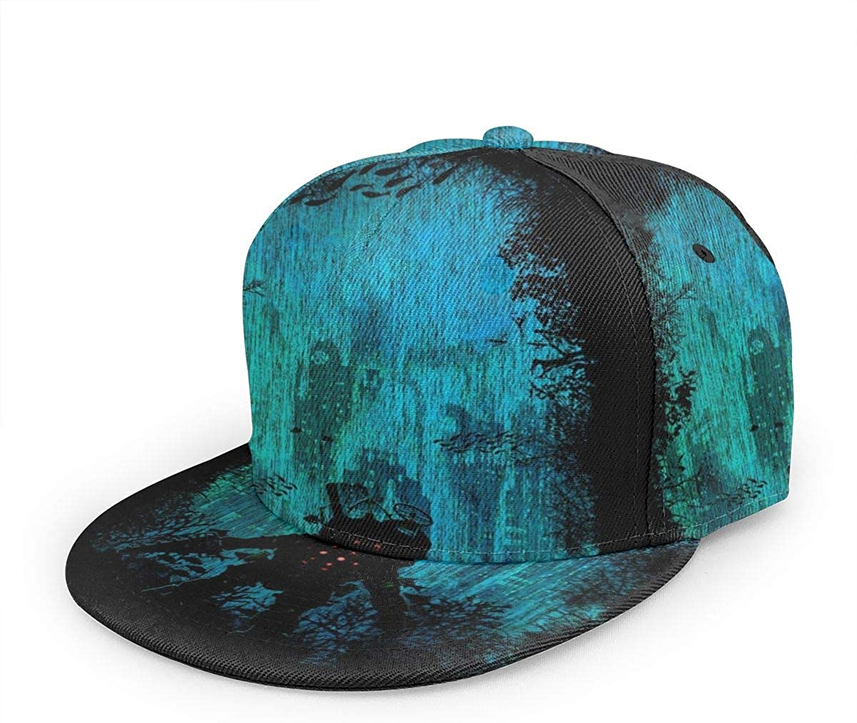 1003 Bioshock Big Daddy Discovering Rapture -Unisex Baseball Cap Printed Fashion Sport Pop Baseball Cap Black
