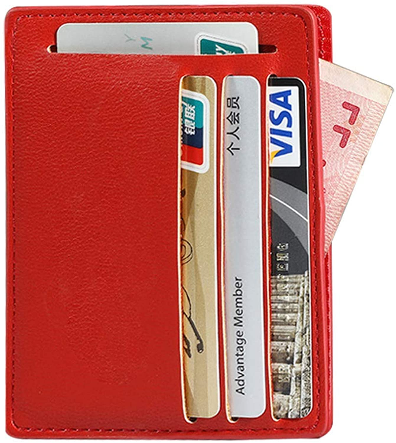 Credit Card Holder,Slim Wallet Automatic Pop up Metal Card Case for Men and Women