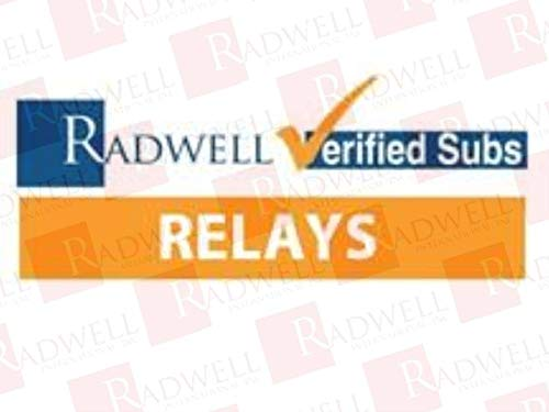 RADWELL VERIFIED SUBSTITUTE 56328110200SUB Relay - 120VAC, 10A 2PDT PCB Relay- Replaces Finder PN: 56328110200