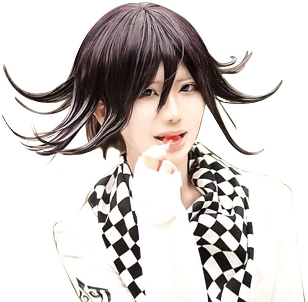 Danganronpa V3: Killing Harmony Ouma Kokichi Cosplay Wig Cosplay Costume Hair Purple