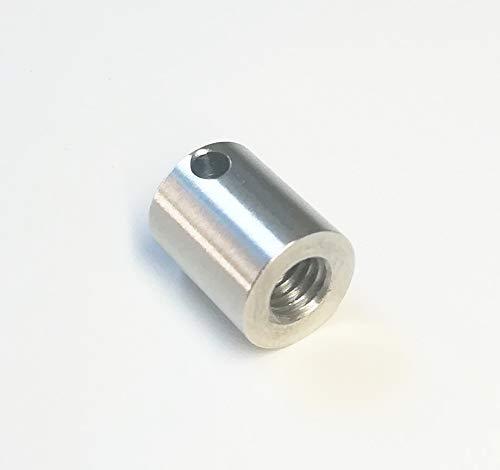 SUXING CMM Probe Thread Adapter M2 Outer Thread Shank to M4 Inner Thread 7mm Diameter 9mm Long